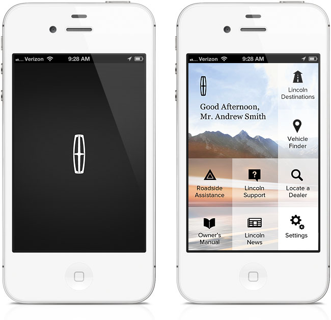 My Lincoln Mobile App >> Matt Metropulos Ui Ux Problem Solver